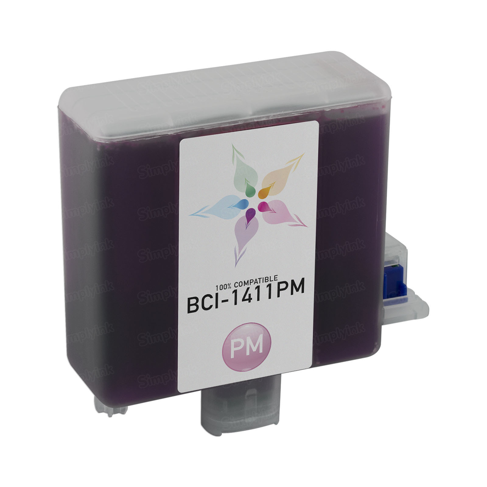 Canon Compatible BCI-1411PM Photo Magenta Ink for imagePROGRAF W7200 & W8200