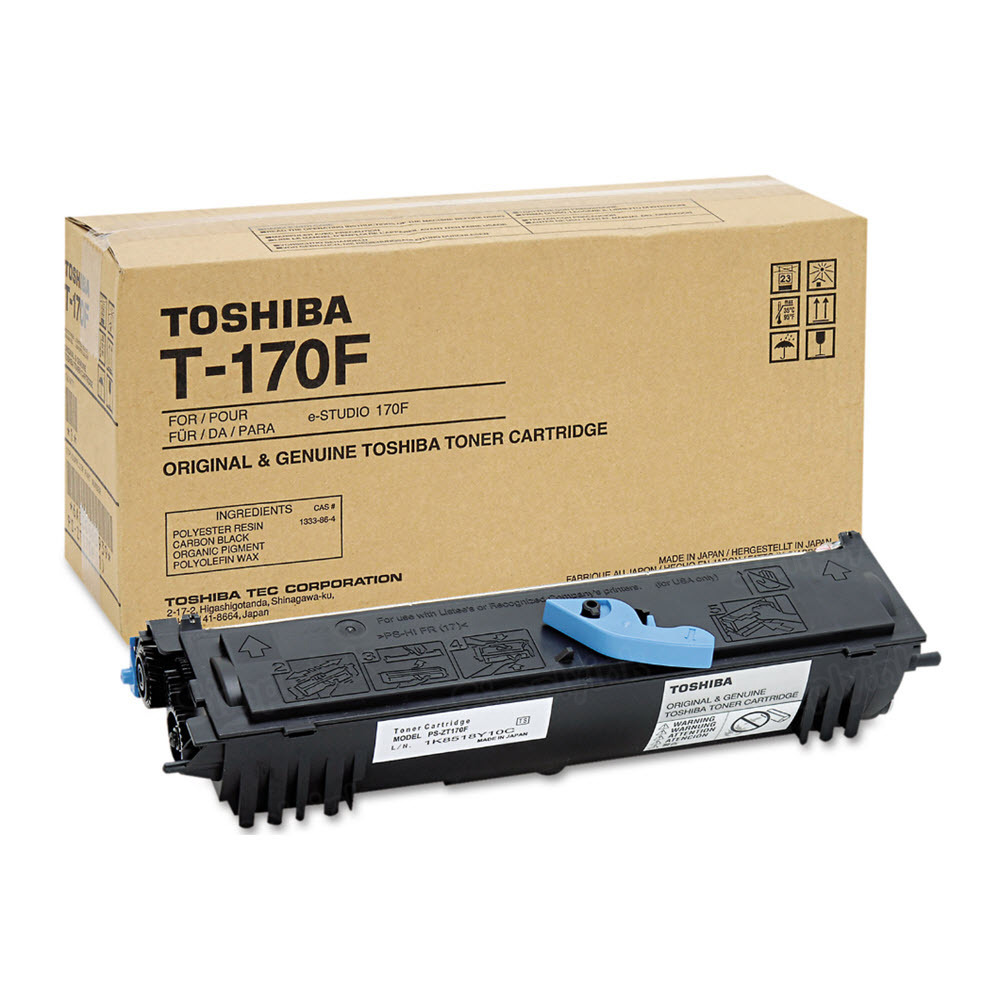 OEM Toshiba T-170F Black Toner Cartridge