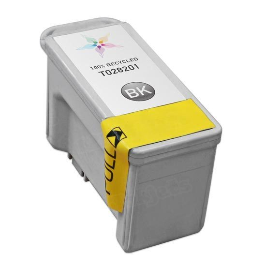 Epson Remanufactured T028201 Black Inkjet Cartridge
