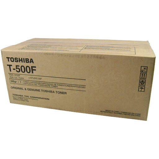 OEM Toshiba T-500F Black Toner Cartridge