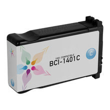 Compatible Canon BCI1401C Cyan Ink Cartridges for the imagePROGRAF W7250