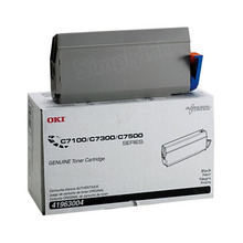 Okidata OEM Black 41963004 Toner Cartridge 10K Page Yield