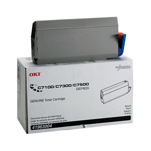 OEM Okidata 41963004 Black Toner Cartridge