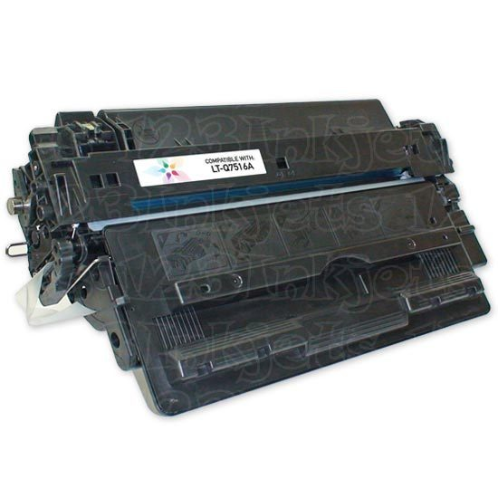 Remanufactured Replacement Black Laser Toner for HP 16A