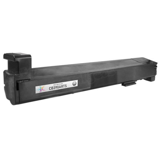Remanufactured Replacement Black Laser Toner for HP 825A