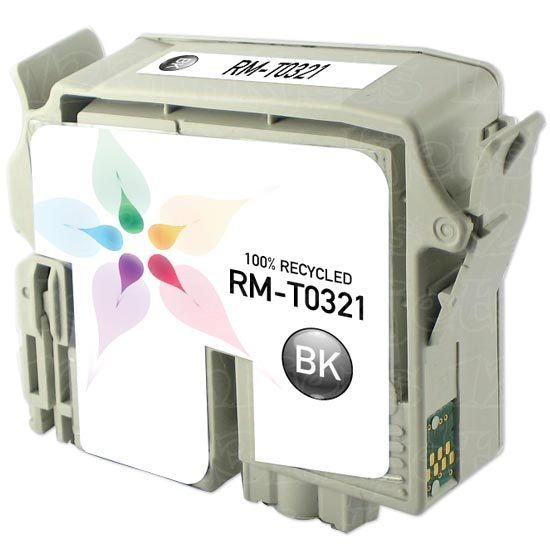 Epson Remanufactured T032120 Black Inkjet Cartridge
