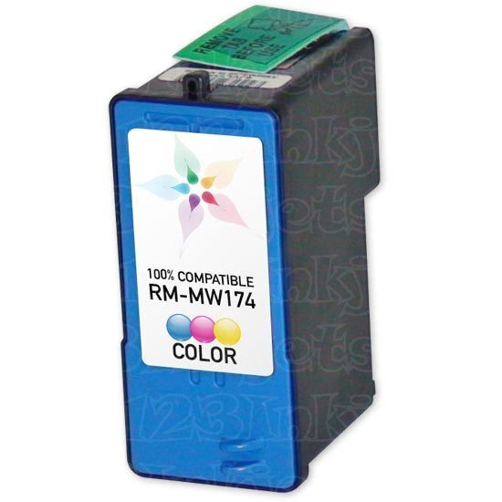 Remanufactured Ink Cartridge for Dell MK993 HY Color Series 9