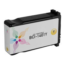 Compatible Canon BCI1401Y Yellow Ink Cartridges for the imagePROGRAF W7250