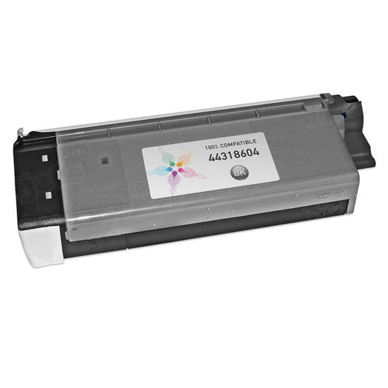 Compatible 44318604 Black Toner for Okidata