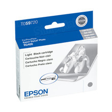 Original Epson T059720 Light Black Inkjet Cartridge (T0597)
