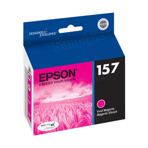 Epson 157 Magenta OEM Ink Cartridge (T157320)