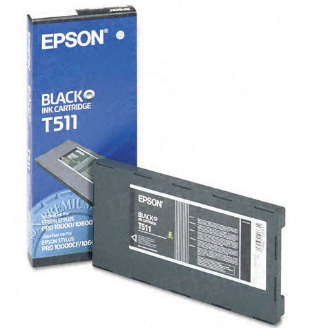 Epson T511011 Black OEM Ink Cartridge