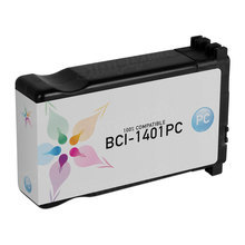 Compatible Canon BCI1401PC Photo Cyan Ink Cartridges for the imagePROGRAF W7250