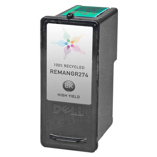 Remanufactured Ink Cartridge for Dell CH883 HY Black Series 7