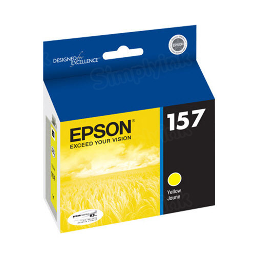 Epson 157 Yellow OEM Ink Cartridge (T157420)
