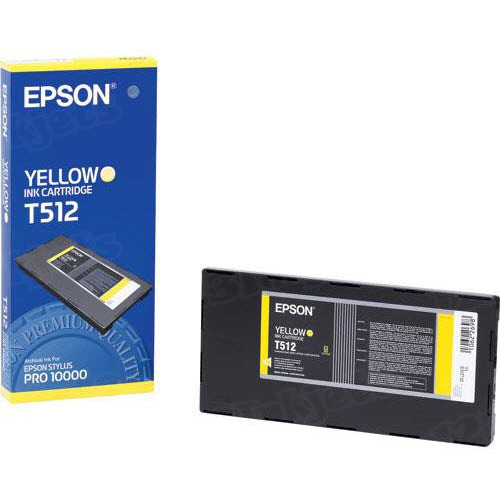 Epson T512011 Yellow OEM Ink Cartridge