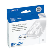 Original Epson T059920 Light Light Black Inkjet Cartridge (T0599)