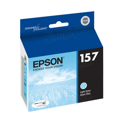 Epson 157 Light Cyan OEM Ink Cartridge (T157520)