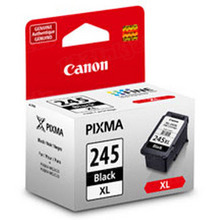 Canon PG-245XL Black OEM High-Yield Ink Cartridge, 8278B001AA