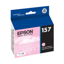 Original Epson 157 Light Magenta Inkjet Cartridge (T157620)