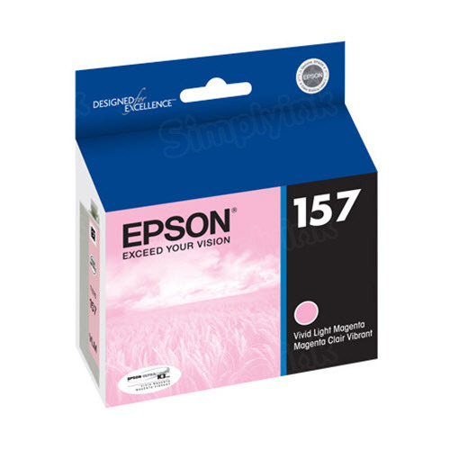 Epson 157 Light Magenta OEM Ink Cartridge (T157620)