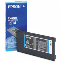 Original Epson T514011 Cyan Inkjet Cartridge (T514)