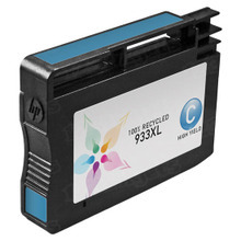 Remanufactured Replacement Ink Cartridge for Hewlett Packard CN054AN (HP 933XL) High-Yield Cyan