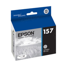Original Epson 157 Light Black Inkjet Cartridge (T157720)