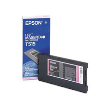 Original Epson T515011 Light Magenta Inkjet Cartridge (T515)