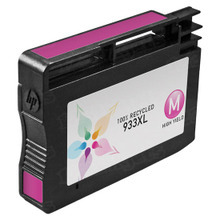 Remanufactured Replacement Ink Cartridge for Hewlett Packard CN055AN (HP 933XL) High-Yield Magenta