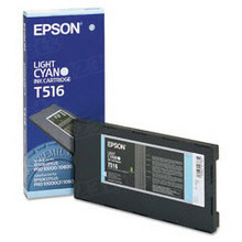 Original Epson T516011 Light Cyan Inkjet Cartridge (T516)