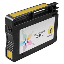 Remanufactured Replacement Ink Cartridge for Hewlett Packard CN056AN (HP 933XL) High-Yield Yellow