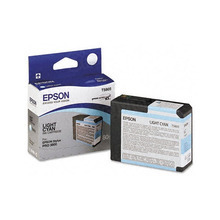 Original Epson T580500 Light Cyan 80 ml Inkjet Cartridge (T5805)
