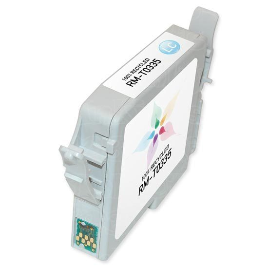 Epson Remanufactured T033520 Light Cyan Inkjet Cartridge