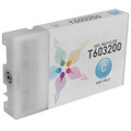 Epson Remanufactured T603200 Cyan Inkjet Cartridge for the Stylus Pro 7800/7880/9800/9880