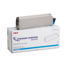 Okidata OEM Cyan 41963603 Toner Cartridge 15K Page Yield