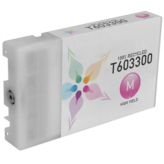 Epson Remanufactured T603300 / T6033 Magenta Inkjet Cartridge for the Stylus Pro 7880/9880