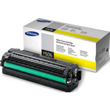OEM Samsung CLT-Y506L High Yield Yellow Laser Toner Cartridge 3.5K Page Yield