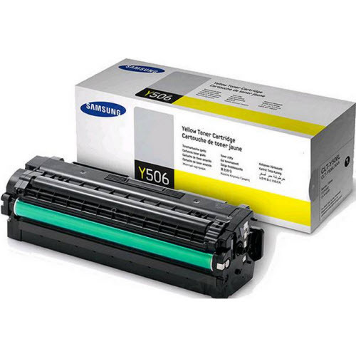Samsung CLT-Y506L High Yield Yellow Toner