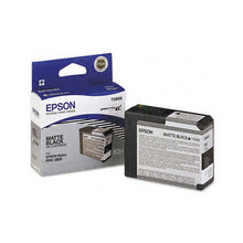 Original Epson T580800 Matte Black 80 ml Inkjet Cartridge (T5808)