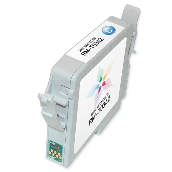 Epson Remanufactured T034220 Cyan Inkjet Cartridge
