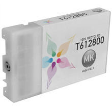 Remanufactured Replacement for Epson T612800 (T6128) High Capacity Matte Black 220ml Ink Cartridges for the Stylus Pro 7800, 7880, 9800, 9880
