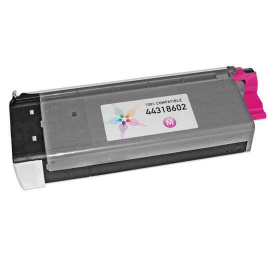 Compatible 44318602 Magenta Toner for Okidata