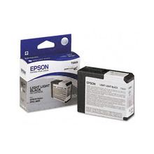 Original Epson T580900 Light Light Black 80 ml Inkjet Cartridge (T5809)