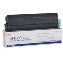 Original High Yield Black Laser Toner Cartridge for Okidata 42102901 6K Page Yield