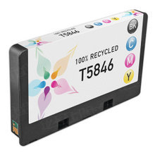 Remanufactured Replacement for Epson T5846 Photo Color Ink Cartridges
