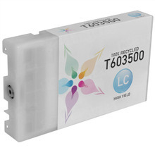 Remanufactured Replacement for Epson T603500 (T6035) High Capacity Light Cyan 220ml Ink Cartridges for the Stylus Pro 7800, 7880, 9800 & 9880