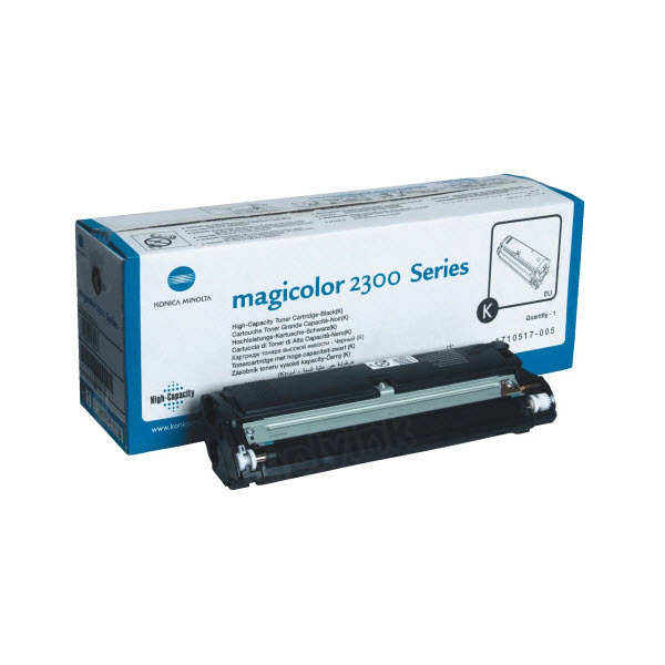 1710517-005 High Yield Black Toner for Konica Minolta