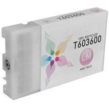 Remanufactured Replacement for Epson T603600 (T6036) High Capacity Light Magenta 220ml Ink Cartridges for the Stylus Pro 7880, 9880