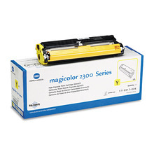 Konica Minolta 1710517-006 OEM High Yield Yellow Toner
